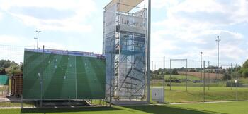 Hoffenheim trial Videowall for real-time analysis