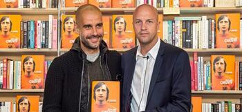 Cruyff defends Guardiola record at Man City
