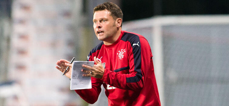 Graeme Murty is in his second spell as Rangers caretaker manager
