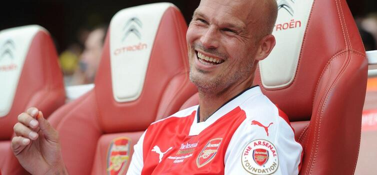 Ljungberg left Arsenal to join Wolfsburg