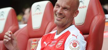 Ljungberg takes charge of Arsenal U23s as Gatting departs