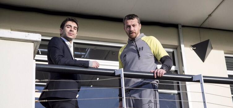 Tony Khan and manager Slavisa Jokanovic