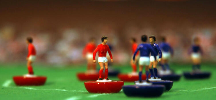 Subbuteo is important because the players are 'kinaesthetic', Boothroyd says