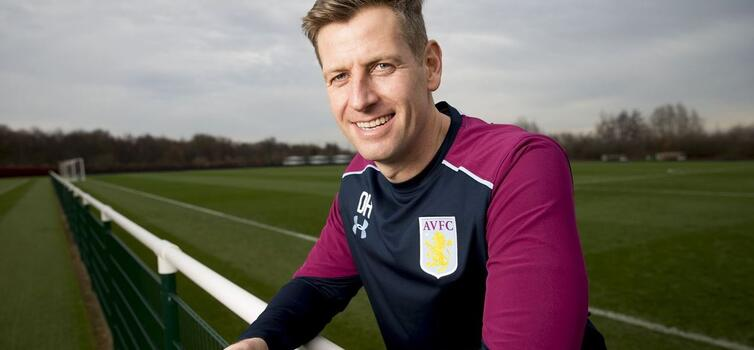 Hughes made seven appearances for Villa before returning as U18s coach
