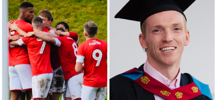 Miller graduated with a distinction from the Master of Sport Directorship course at MMU
