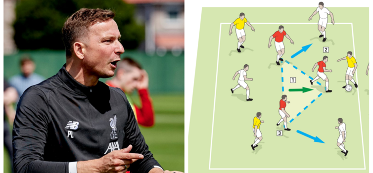Lijnders says Liverpool's rondos are often pressing exercises