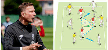Lijnders: How Liverpool build counterpressing into every session