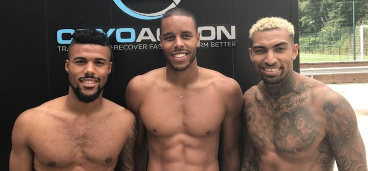 Huddersfield say cryotherapy is an important part of their recovery strategy