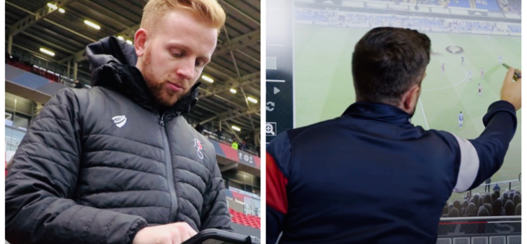 Sam Stanton (left) was Head of Analysis at Bristol City from 2013 to 2020