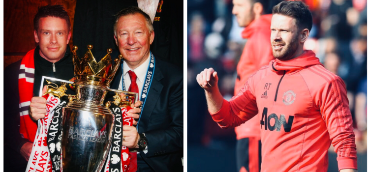 United won two Premier League titles while Thorpe was working under Ferguson