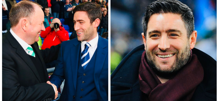 Lee Johnson began his managerial career at the age of 31 and faced his father Gary
