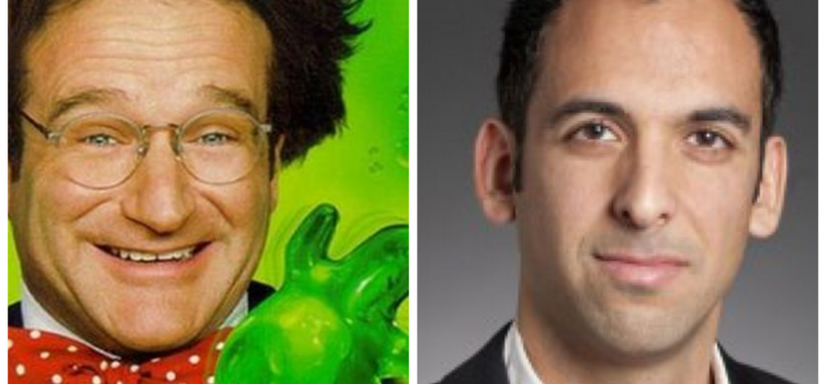 Flubber, starring Robin Williams, and Dr Carmel Majidi