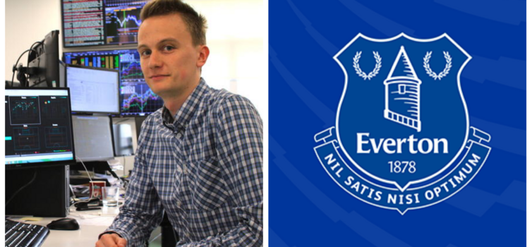 Charlie Reeves started work at Everton at the beginning of July