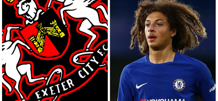 Ampadu made his Exeter City debut at 15