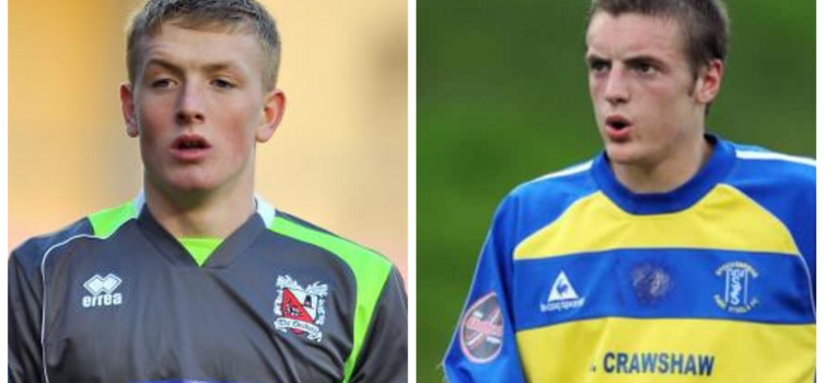 Pickford and Vardy began their careers in non-league