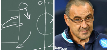 Philosophy and tactics of Maurizio Sarri