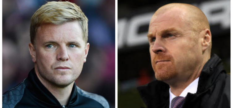 Howe and Dyche are regarded as two of the best young English managers in the game