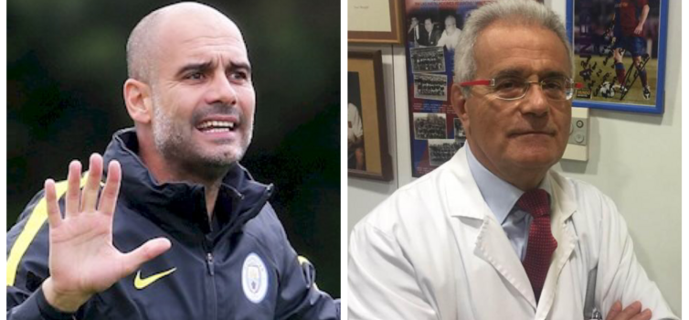 Guardiola has been friends with Dr Cugat for 20 years