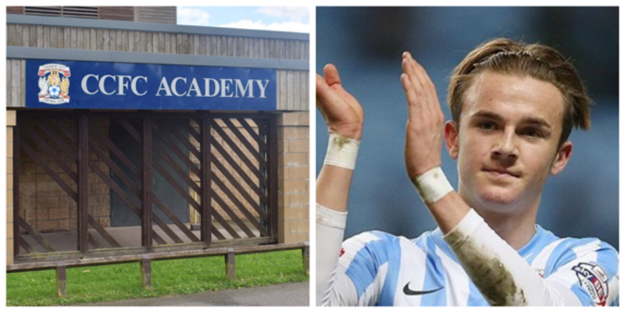 James Maddison is the star graduate of the Coventry City Academy