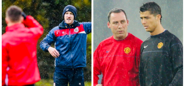 Rhys Carr was Development Coach for Bristol City, while Rene Meulensteen did a similar job for Man Utd
