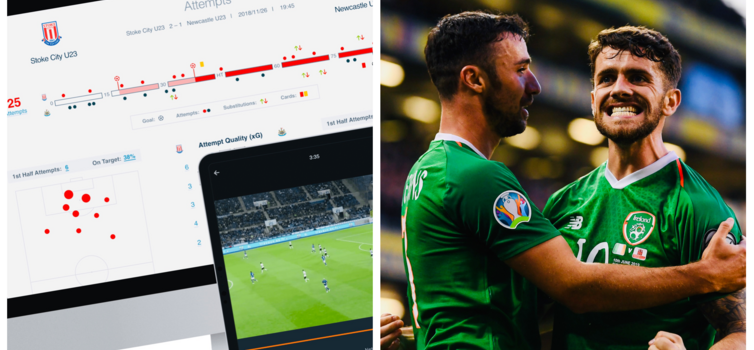 Gerard Dunne has been testing Sportscode with the Republic of Ireland senior men's team