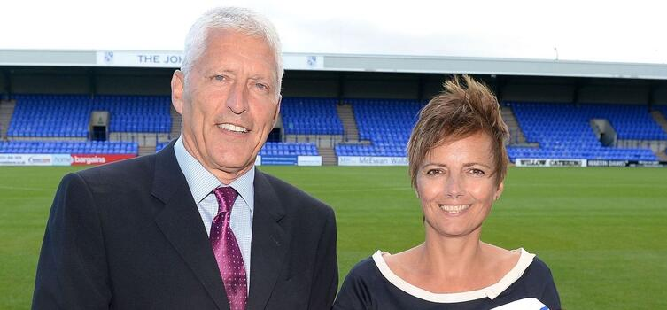 Mark and Nicola Palios took over Tranmere in 2014
