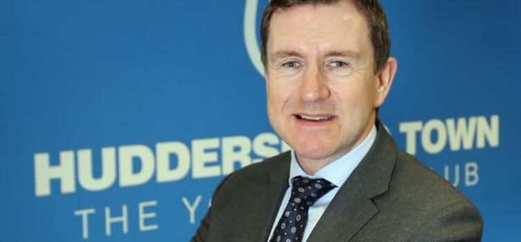 Hoyle has been chairman of Huddersfield Town since June 2009