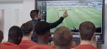 How Lee Johnson uses technology to engage his players