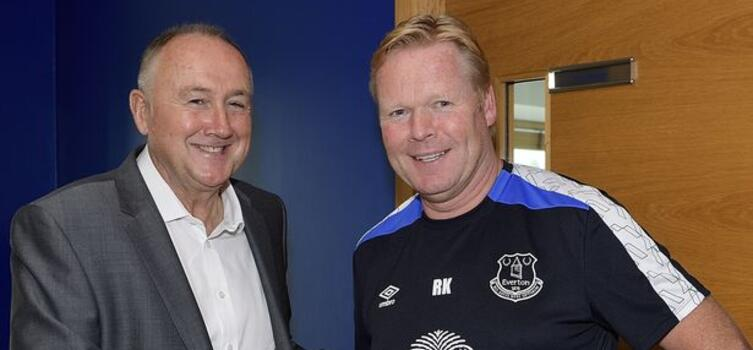 Steve Walsh (left) had ultimate responsibility for Everton's recruitment