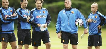 Watford looking for entirely new backroom team