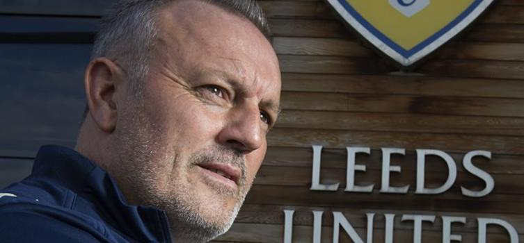 Redfearn managed Leeds United in 2014/15
