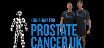 Practitioners from 19 clubs unite for 10km Prostate United challenge