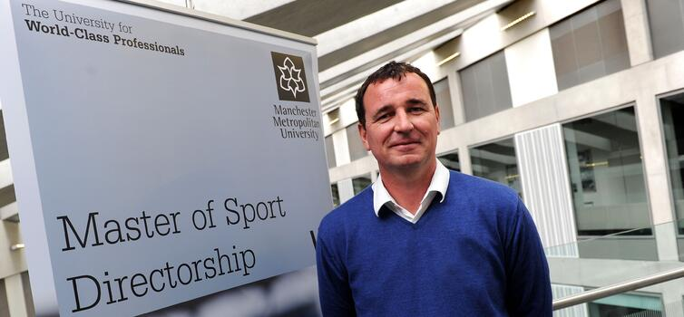 Bowyer has been studying for the Master of Sport Directorship at MMU