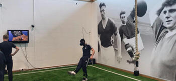 Man Utd pioneer use of elite virtual reality system