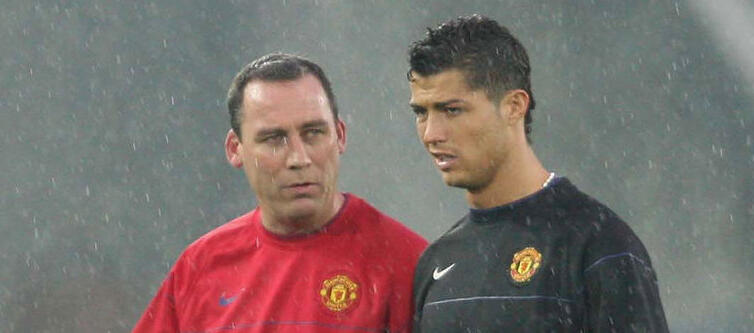 "Meulensteen says ""Ronaldo came to the right place at the right time in his career."""