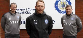 Brighton U23s boss Rusk named manager of Stockport County