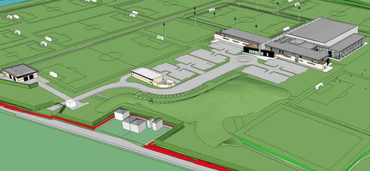 Architect's plans for Finch Farm (AFL Architects)