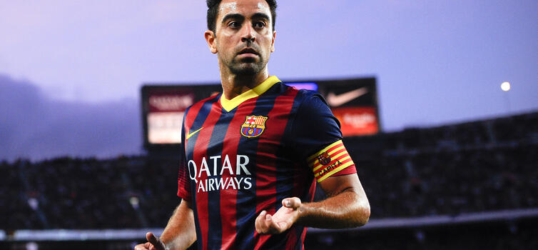 Xavi was off the scale when it came to scanning