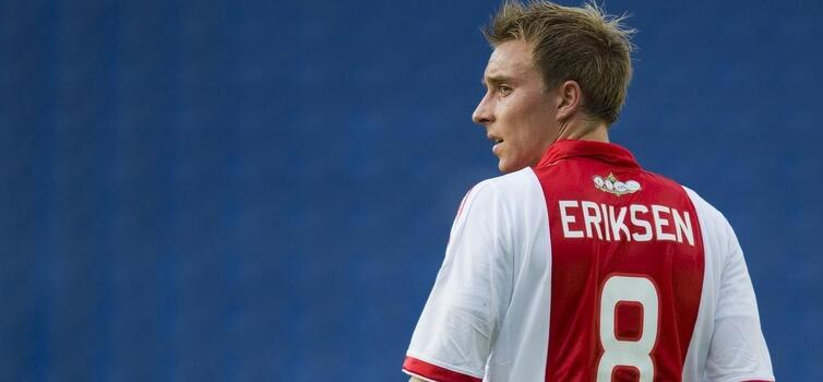 Eriksen joined Ajax when he was 16