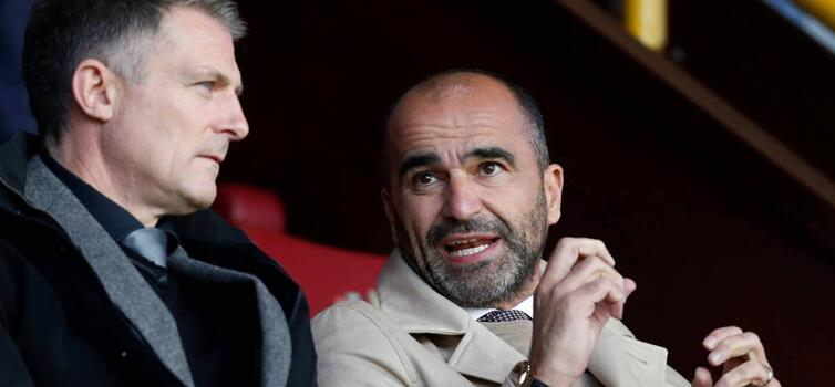 Richard Evans has worked with Roberto Martinez since 2003