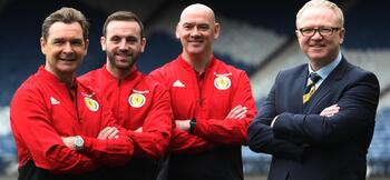 McLeish appoints trio to Scotland backroom team
