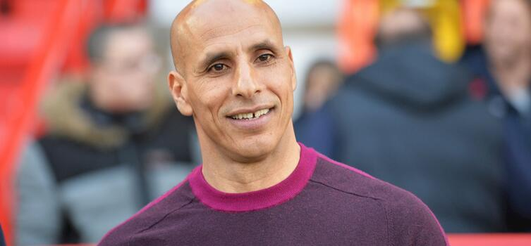 Maamria has been manager of Stevenage since March 2018