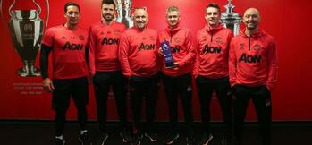 McKenna, Carrick and Dempsey retained by Manchester United