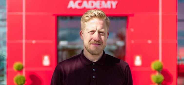 "Academy Manager Nick Cox says ""local talent is fundamental to everything we do"""