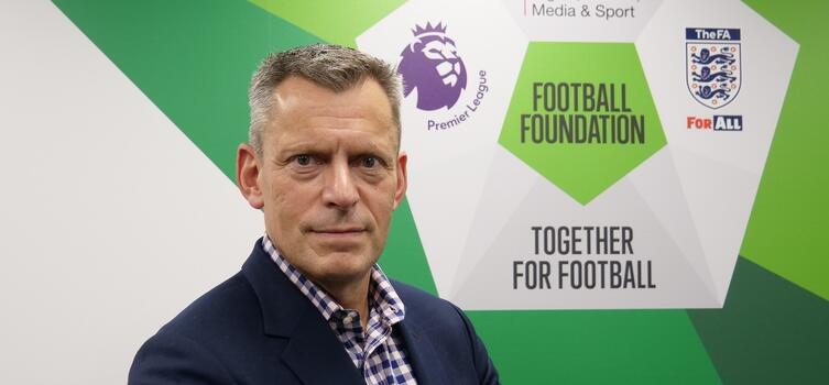 Martin Glenn is now Chairman of the Football Foundation