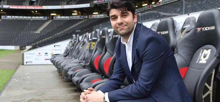 Micciche was in charge at MK Dons for three months last season