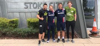 Stoke City to use VR to train keepers