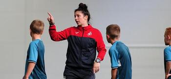 Pioneering female coach made redundant by Swansea