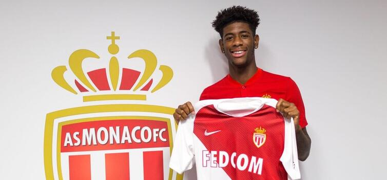 Panzo signed a five-year deal with Monaco