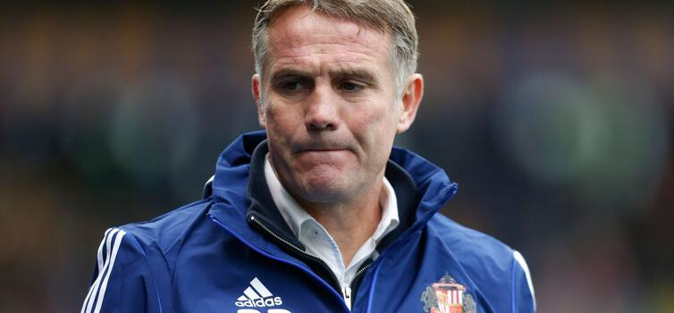 Parkinson was sacked after 13 months at Sunderland